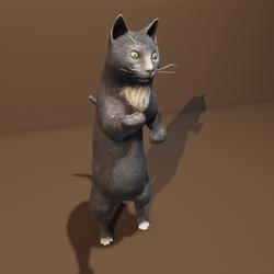 Baba Yaga's cat