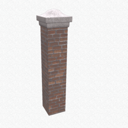 Brick Wall Kit Column