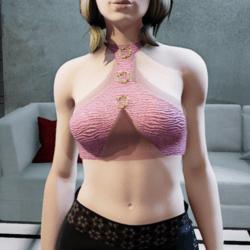 Brisa top pink