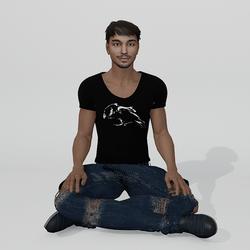 Sit Ground Male