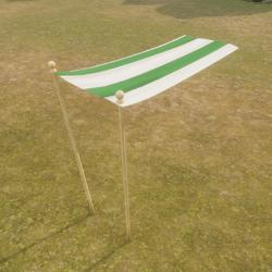 Tent Flap Green