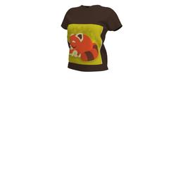 Raccoon or Red panda T-shirt (Brown)