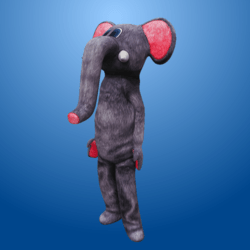 Grey Elephant Costume