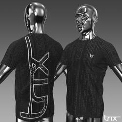 Glowing and Animated DJ Trix Unisex Tshirt