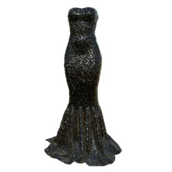 Mermaid Dress AV2 black