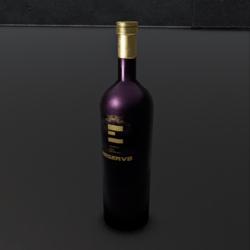 Bordeaux Wine Bottle