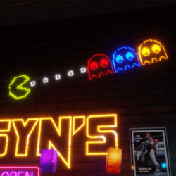 ARCADE COLLECTION - Pacman Neon Sign