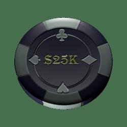 Poker chip 25k (colision)