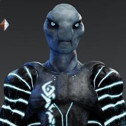 Blue Alien Avatar