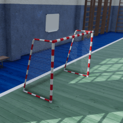 Gym Floor Goal Net