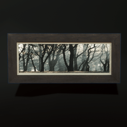 Horizontal Painting - Trees