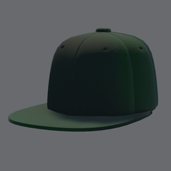 DemiGod Cap Green [MALE]