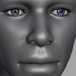 Men Eyes - Blue