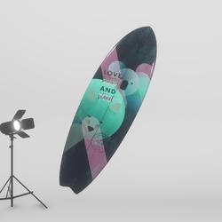 #HelpAustralia - Surfboard (Clothing)