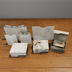 ALUORA gift/shoping containers pack