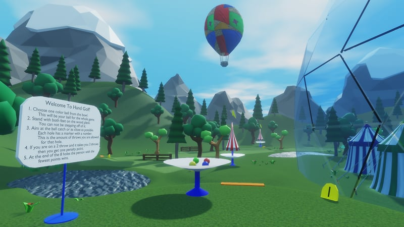 Free Ballon Rides and Golf!