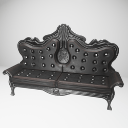 Gothic couch (slatanic mechanic)