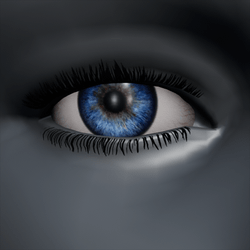 AV2 Men Eyes - Blue