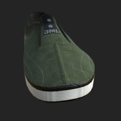 SLIP-ON SHOES MALE OLIVE