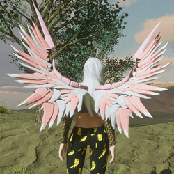 Mech Wings Female Pinks