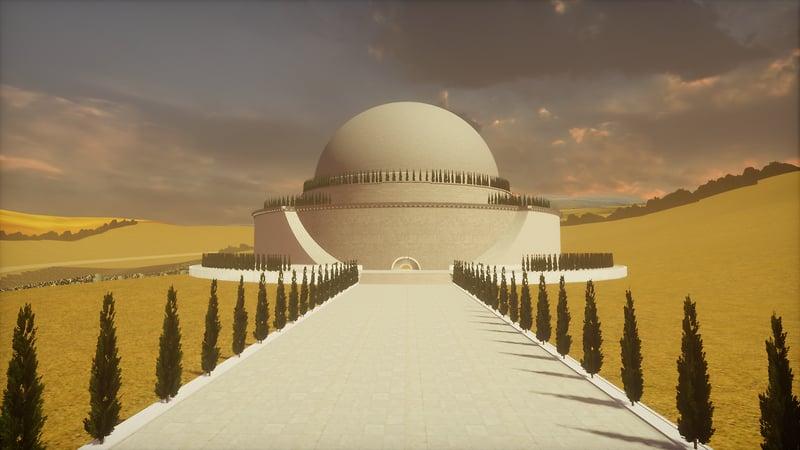 IDIA Lab: Newton's Cenotaph WIP