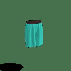 cyan shorts
