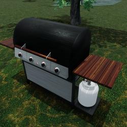 DJ's BBQ Grill