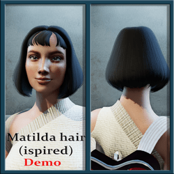 matilda hair (isnspired) demo