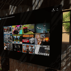 FREE Widescreen TV Media Surface - UPDATED