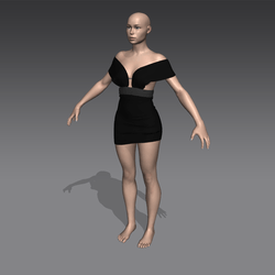 102 - Suspended Dress