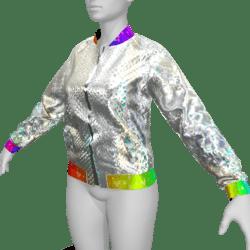 Female Jacket with Animation