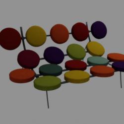 Rainbow sofa