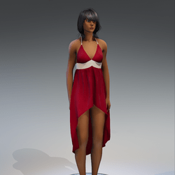 Dress Holly 2.0 red