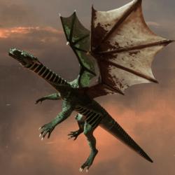 DRAGON  animated