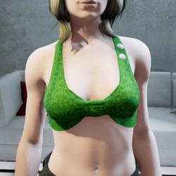 Moy top green