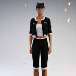 Capri Pants Outfit #3