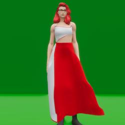 Puffed Dress (TM)