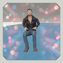 Sitting Steve