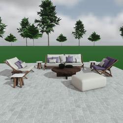 Aplo sofa furniture set