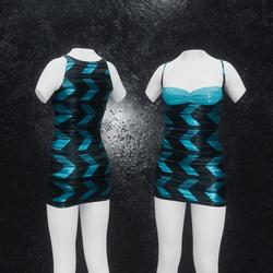 Dress Joy Arrow blue