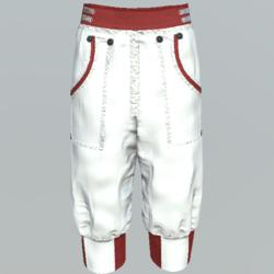 Pants short unisex DW