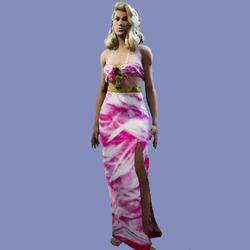 Josie Feather Pink