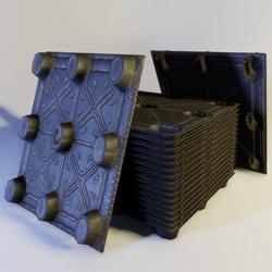 Nestable Plastic Pallet