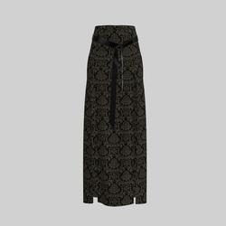Skirt Briana Damask Gray & Black 2.0