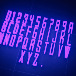 Complete Alphabet Font: YoungAgency