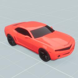Camaro Rouge