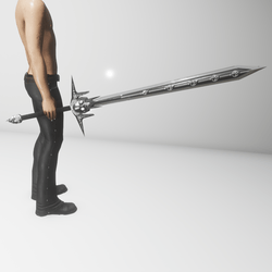 Death Dealer sword (avatar attachment)