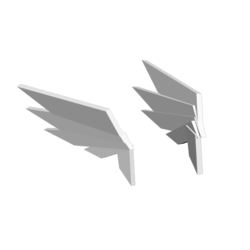 ArtDeco Head Wings (Female)