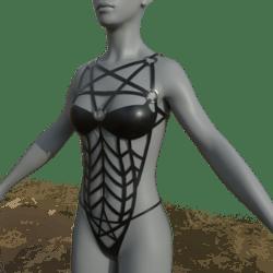 Female Body Harness