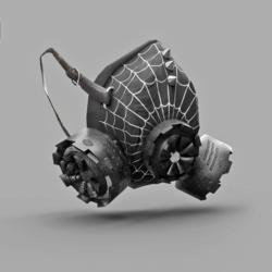 Gas Mask Respirator Spider